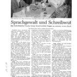 Interview mit Kippe und Bier