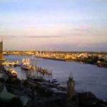 Hamburger Hafen im Zeitraffer